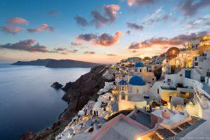 Cidade de Ía (Oia), Santorini