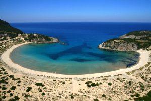 Praia de Voidokilia